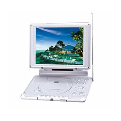 10.4-inch TFT LCD Screen Portable DVD with Game Player