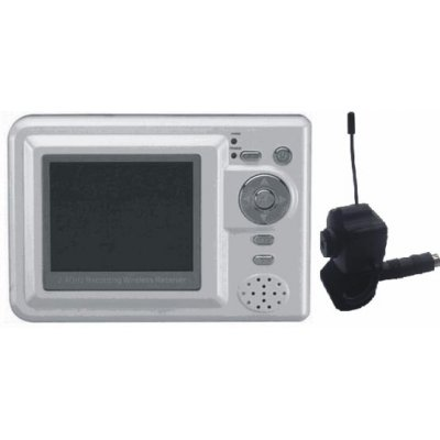 2.4GHz 4-channel palm wireless mobile AV receiver, MP4 Player