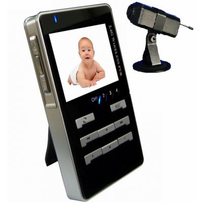 Handheld Wireless Audio Video Receiver And Baby Monitor Spycam