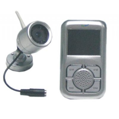 Wireless Camera and Receiver Set With Quality Camera