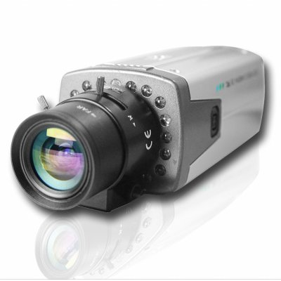 High Line Wired Color 1/3 Inch CCD Camera With Night Vision -PAL