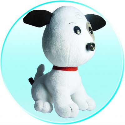 Wireless Baby Monitor - Camera In Nose Of Puppy Soft Toy
