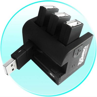 USB 2.0 Hub - Multi Format Card Reader