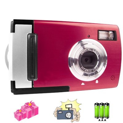 Quality Beginners Digital Camera - 5.0M Pixel CMOS Sensor