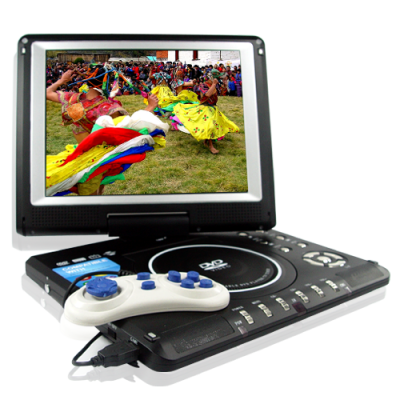 Portable NES + DVD Player - Rotating 10.4 Inch TFT Screen