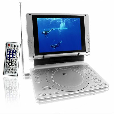 TV + Portable DVD Player - USB Port And Memory Card Slot