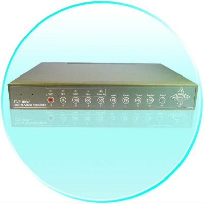 4 Channel DVR - MPEG 4 Compression