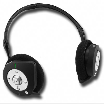 MP3 Bluetooth Headphone 1GB - Bluetooth Pairing + MP3 Music