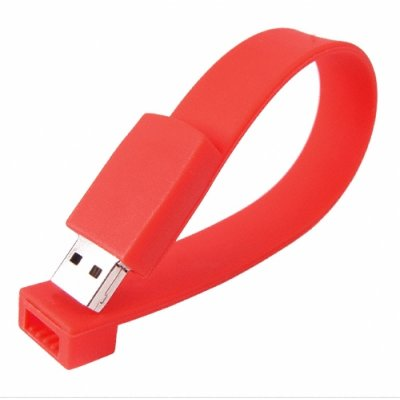Flash Band USB 4GB - Gadget Wrist Band Apparel