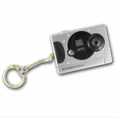 CMOS Keychain Digital Camera - 16MB Memory