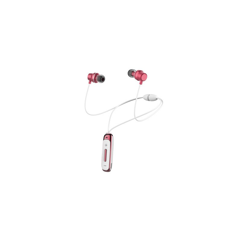 Bt315 Bluetooth  Headset With Microphone Bass Sports Magnetic Headset In-ear Wireless Earbuds Pink