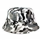 Bucket Hats Men Outdoor Fisherman Hat Cotton Fishing Cap Camouflage Bucket Caps Off-white_adjustable
