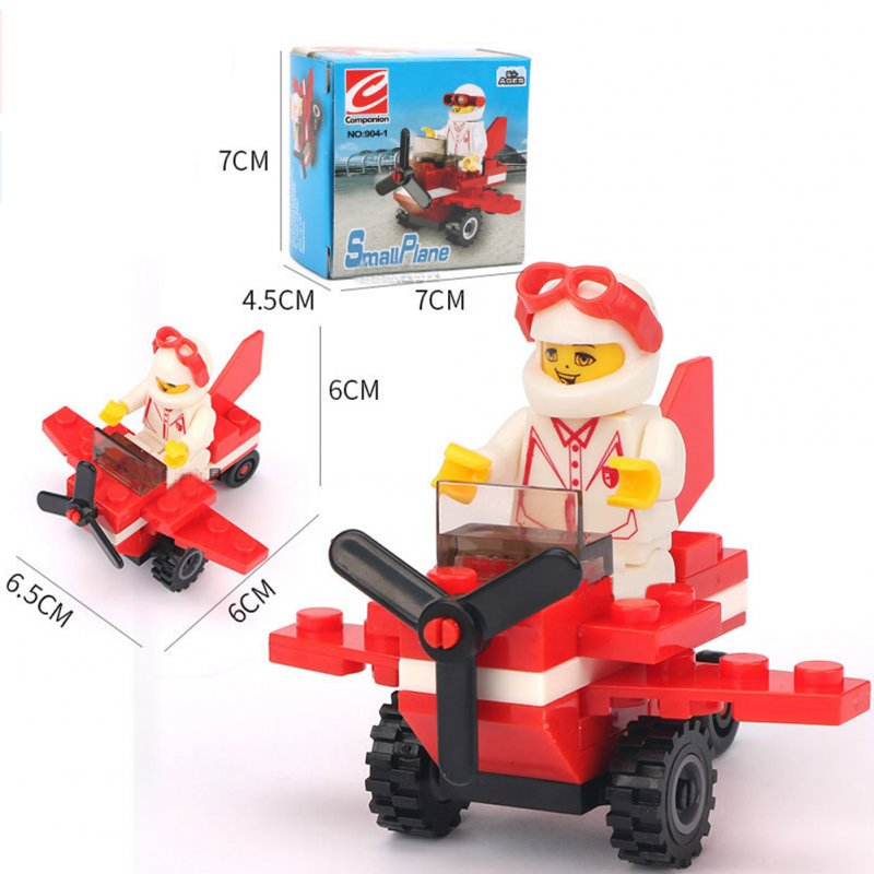 Building Blocks Figures Engineer Truck Block Bricks Sets Educational Toys For Children Kids Gifts 904-1