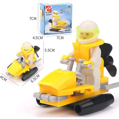 Building Blocks Figures Engineer Truck Block Bricks Sets Educational Toys For Children Kids Gifts 906-1