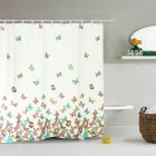 Butterfly Shower  Curtain For Bathroom Waterproof Fabric Curtains Home Bath Decor 180*180cm   Simple butterfly