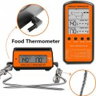 Buy Black Wireless Remote Food Thermometer  50 300  C  it s very durable and convenient