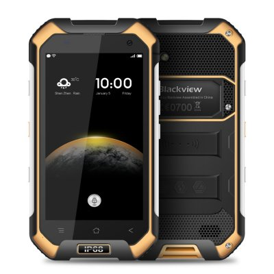 Yellow Blackview BV6000 IP68 Smart Phone