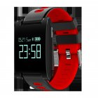 Buy DM68 PLUS Health Tracker Red Smart Bracelet at Chinavasion store with good price