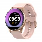 C009 <span style='color:#F7840C'>Smart</span> Bracelet Silicone Round Full-Screen Touch Heart Rate Sleep Health Monitoring Sports <span style='color:#F7840C'>Smart</span> <span style='color:#F7840C'>Watch</span> Pink siliocne
