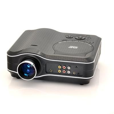 Projector with DVD Player