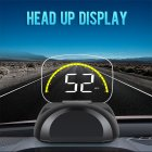 C700S LED Car Head-up Display OBD2 Fault Elimination Speed/Water Temperature Voltage Alarm black_C700S