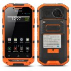 CDMA 3G Rugged Android Smartphone has an IP68 Waterproof and Dust Proof Rating in addition to boasting a 4 Inch Display and an 8MP Rear Camera