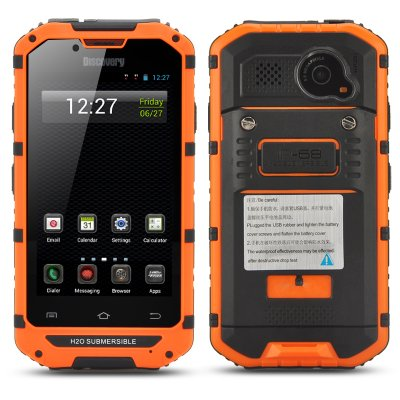 4 Inch Rugged Android Smartphone Orange