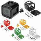 CNC Aluminium Protective Housing Case Cover Frame for GoPro Hero 4 5 Session green