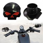 Motorcycle CNC Fuel Gas Oil Tank Cap-Black