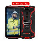 Original CONQUEST S12 Pro Phone Safety Explosion Proof IP68 4G Mobile Phone 8000mAh Android Rugged Smartphone EU Plug red_6+128GB without intercom
