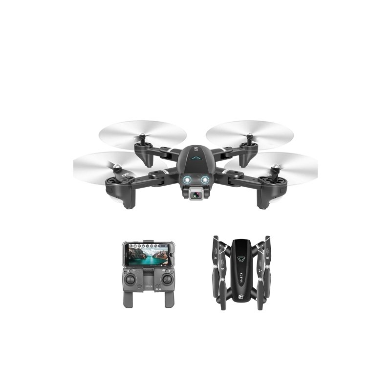 CSJ S167 GPS 2.4G WIFI FPV Drone with 4K Camera 3 battery