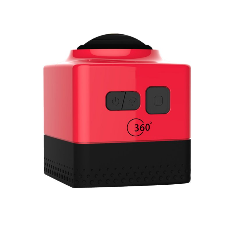 CUBE360 Outdoor WIFI Mini Sports Camera - Red