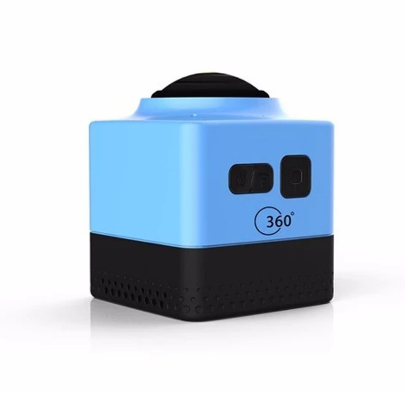 CUBE360 Outdoor WIFI Mini Sports Camera- Blue