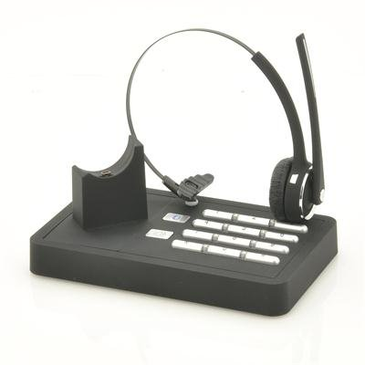 Landline + Mobile Phone Bluetooth Headset