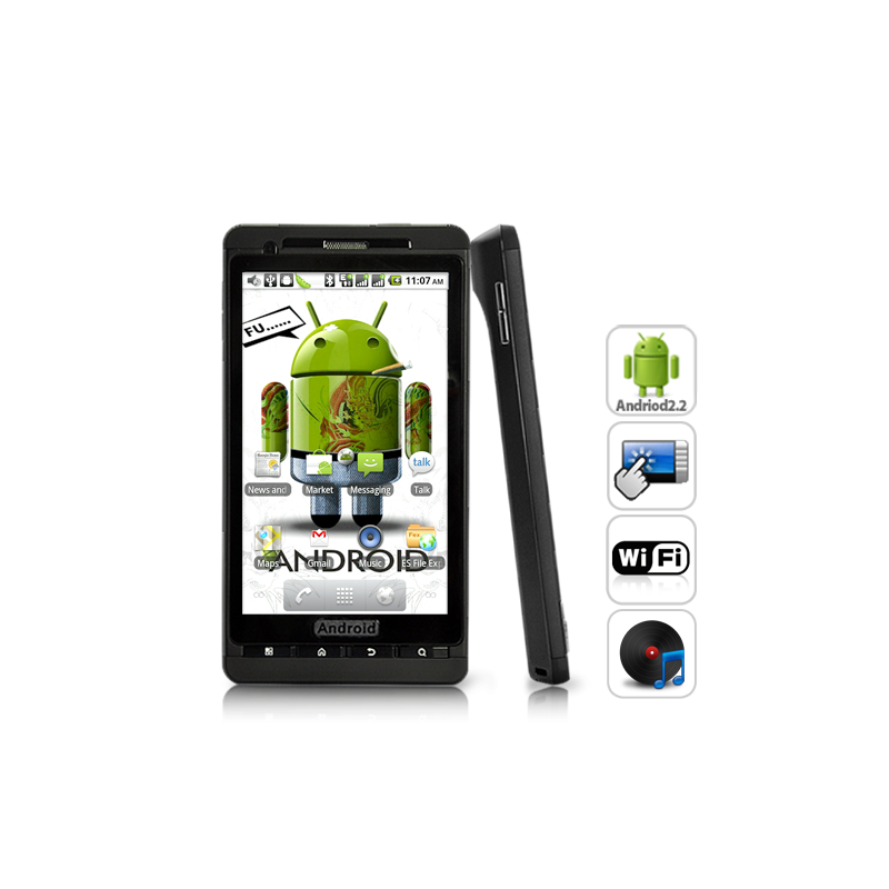 Chrysos 4.3 Inch HD Android 2.2 Phone