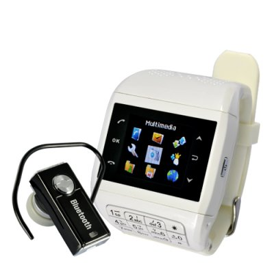 Quartz Phone Watch with Keypad