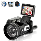 CVFU DV73  New handheld DV camera  digital video and still pictures  with great telescope style optical zoom lens and wide angle lens attachment