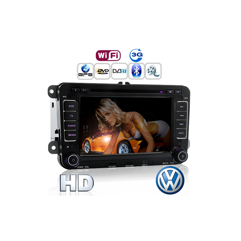 Road Emperor 3G Car DVD for Volkswagen