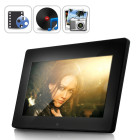 CVGB F20 N1  Watch as your pictures come to life with this 10 Inch Premium Digital Photo Frame  Use the user friendly multimedia menu interface or remote