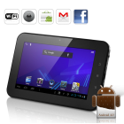 CVGY 7402  Brace yourself for the next generation intuitive operating system  cool design and amazing multimedia on the go with the Xinc Android 4 0 Tablet
