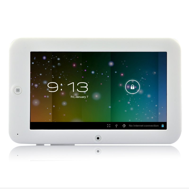 White Chocolate Android ICS Tablet
