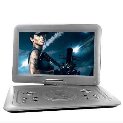 Portable 15 Inch Multimedia DVD Player