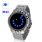 CVIZ G329  The Sapphire Echo  a beautifully crafted blue LED mirror watch  combining function and fashion