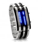CVIZ LT56 ICE  A futuristic  military style LED watch telling you the time in any harsh circumstances
