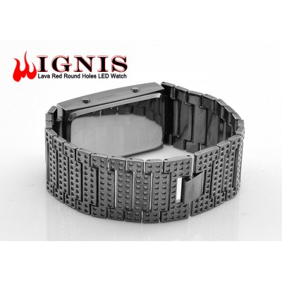 Ignis Lava Red LED Watch