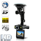 CVMV DV65  Conveniently record hassle free Full HD 1080p video in your car with this amazing new powerful mini Car DVR