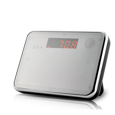 digital clock camera