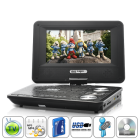 CVOD E78 2GEN  Portable DVD Player with 7 Inch Swivel Screen and Copy Function  Take it with you wherever you go to enjoy your favorite 16 9 wide screen DVDs