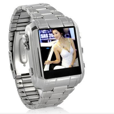 MP4 Player Watch with Compass
