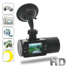 CVSB DC45  this high quality HD video recorder with 2 0 inch LCD screen and night vision function enables you to easily capture video of road situations